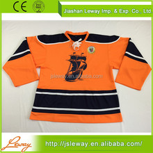 Single jersey fabric in karachi custom field ice hockey jerseys