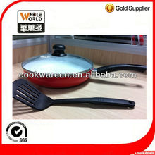 frying pan with a nylon tool top sale
