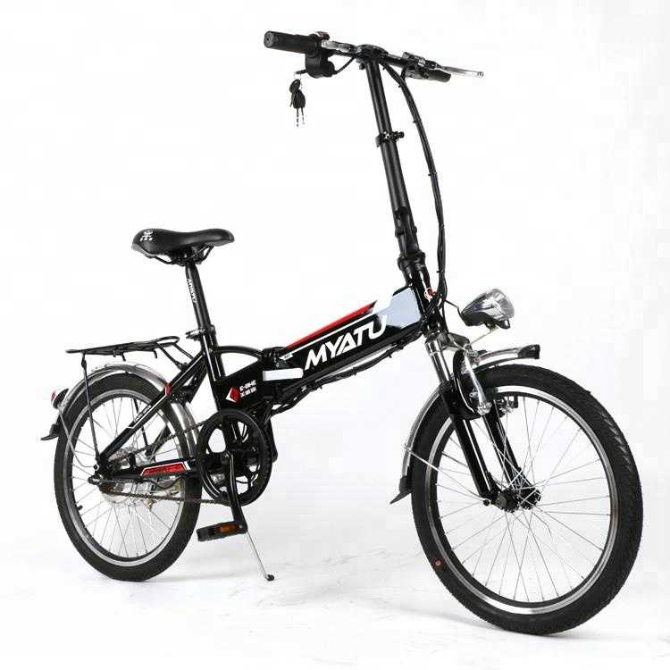 electric bicycle 20 inch <strong>city</strong> ladies 36V 10.4AH LCD display 250W engine e bike folding