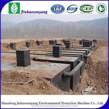 ZWF type compact domestic waste water treatment equipment