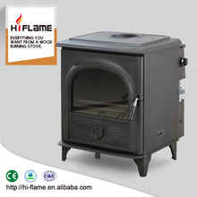 HiFlame indoor wood burning stove with boiler, factory directly supply AL910B