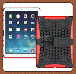 50pcs Protective Cover Tablet Case For iPad pro Combo Stand Heavy Duty Leather Kickstand Armor Hybrid Case For iPad Pro