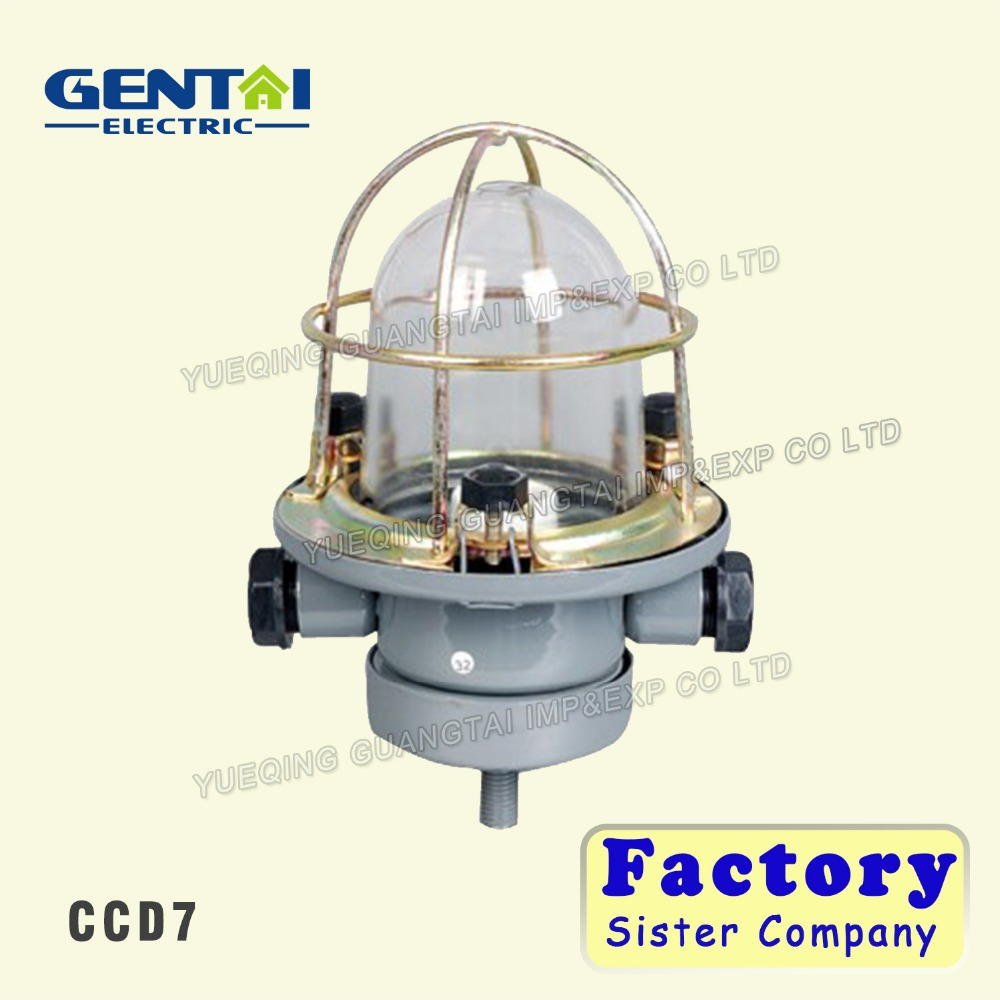 CCD7 IP55 E27 60w industrial steel morden marine edision bulb pendant light fixture