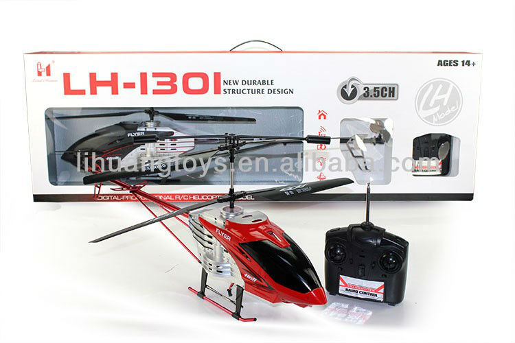 2014 newest METAL 3.5CH RTF Large Scale Rc Helicopter hobby remote control