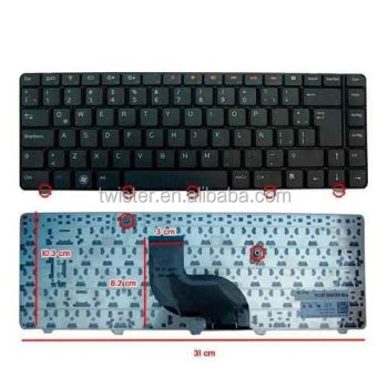 laptop keyboard for New For DE-LL Inspiron 14R N4010 N4020 N4030 M4010 Keyboard Latin Spanish Teclado