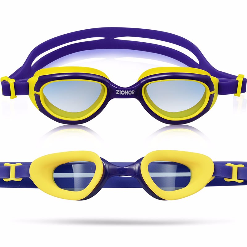 Free Sample High Quality Kids Silicone Anti-fog UV Protect Swimming Goggles