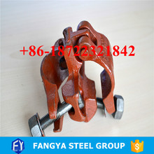 2017 Hot Selling ! scaffolding single coupler 60mm * 48mm swivel coupler