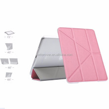 Hot Selling Fold Leather Smart Cover case for iPad mini 4