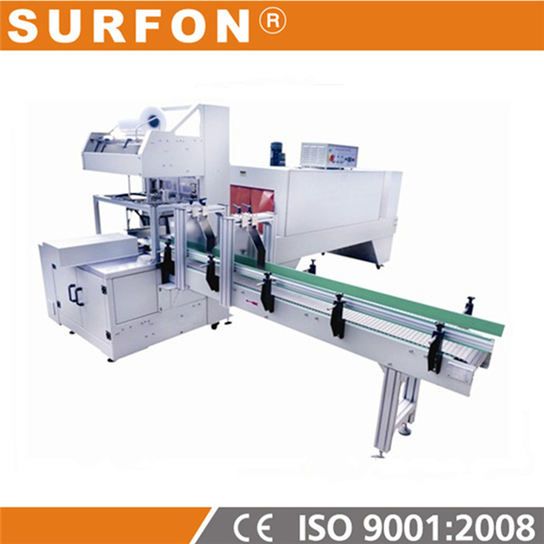 Full Automatic PET bottle Thermal Shrink Film Packing Machine / Wrapping Equipment