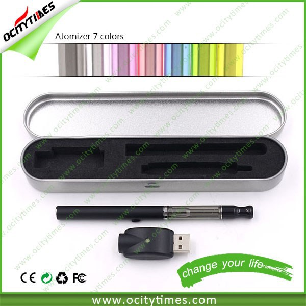 slim e-cigarette pink 9.2 mm with ego crystal diamond battery