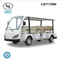 Environmental Electric sightseeing mini bus with gearbox LQY113BN