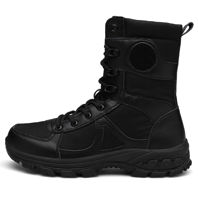 507-2019 hot sale black delta combat boots, training boots, tactical military boots