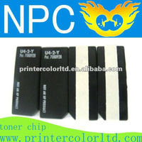 chips toner laser cartridge for CANON COLOUR LASER COPIER 3200 chips reset OEM toner chip /for Canon Copy Printer