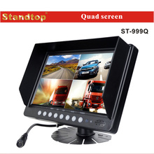 Car headrest 2video input car bus monitor 24v with hdmi input