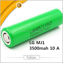 Hot Sale 18650 Rechargeable Battery LG Chem INR18650 MJ1 lgdbmj11865 3.7v 3500mah 10amp li ion cells lg mj1 18650 10a