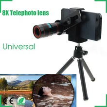 Universal 8x Zoom Telescope Telephoto Camera Lens for Samsung Galaxy Note 4 3 2 S6 S5 S4