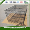 Black Wire Folding Suitcase Pet Dog Cat Crate