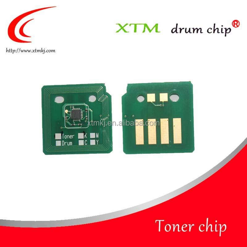 Compatible laserjet for Xerox WC 7525 7530 7535 7545 006R1509 006R1512 006R1511 006R1510 K C M Y cartridge count toner <strong>chip</strong>