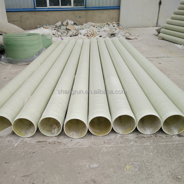 Sand inclusion glass fiber reinforced plastic GRP pipe