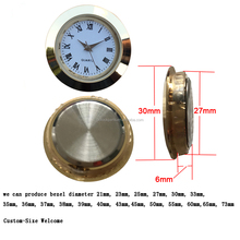 30mm watch clock inserts Japan PC-21S movement inside High Quality