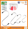 hot selling stainless steel s shaped hanger hook