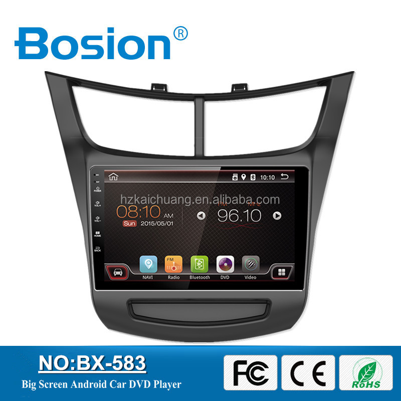 Bosion New Arrived Cool Design Android Car DVD Player for Chevrolet Sail Car Radio Navigation System 3G and Wifi