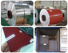 PE/PVDF color coated aluminum coil color coate aluminum gutter coils