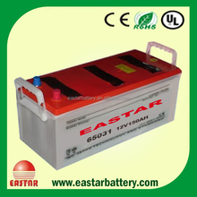 cheapest car batteries 12v 143ah With DIN / JIS Standard
