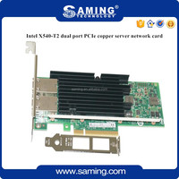 10G Intel X540-T2 dual port PCIe copper network card