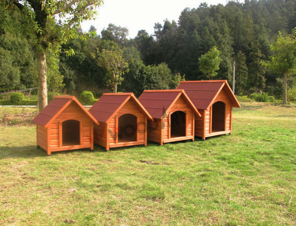 Prefab pet house for dog and cat, cheap dog indoor house dog kennels cages for sale