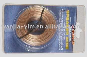 transparent speaker wire factory
