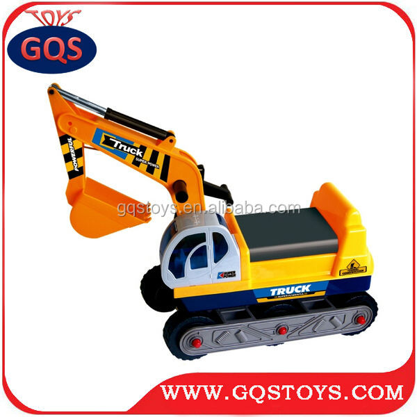 Children cartoon excavator slide vehicle car