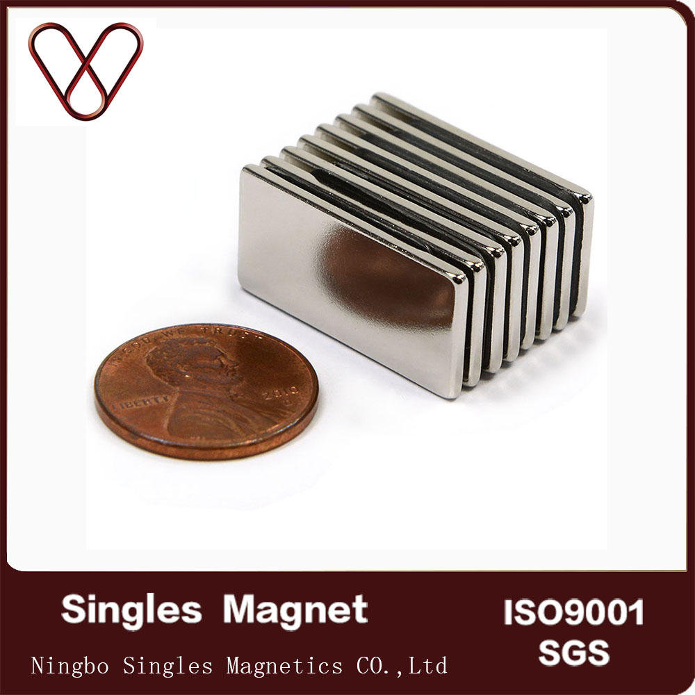 China supplier customized size custom made N52 Neodymium iron boron magnets