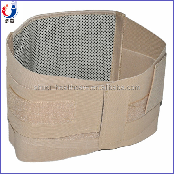 2015 New Back pain Relief Waist Brace Double Pull Lumbar Support Hot Cold Therapy Back Brace For Lower Back
