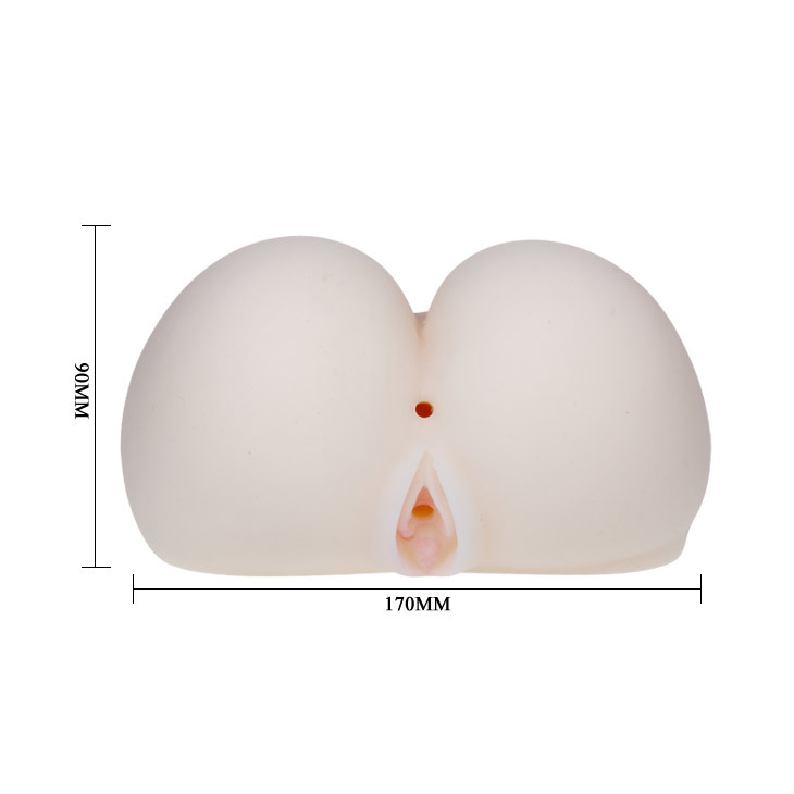 Beautiful Ass&Vagina, TPR Material, Vibration,Tighten and Shrink, Voice, Available Color: Fresh new sex products