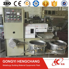 low investment flax seed oil press equipment