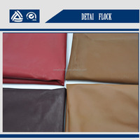 factory price 5% off 0.5mm waterproof types of jacket fabric material jackets men leather fom jiaxing