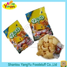 Chinese New Designed Fish Shaped Crispy Puffed Snack