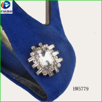 Crystal Galss Shoe Clip For Women