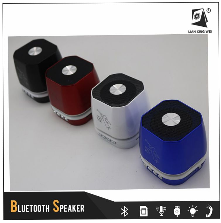 Mini Music Bluetooth Wireless Speaker with Led For Mobile Phone T-2306A