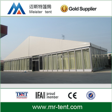 20x30m white hard top roof wall tent for exhibition,event,party