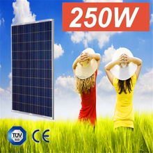 produced in China Cheap price solar system use 30V 36V solar fotovoltaic panel 250w