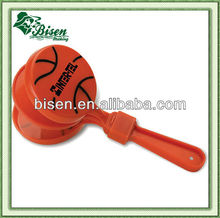 Basketball shaped cheer plastic hand clapper
