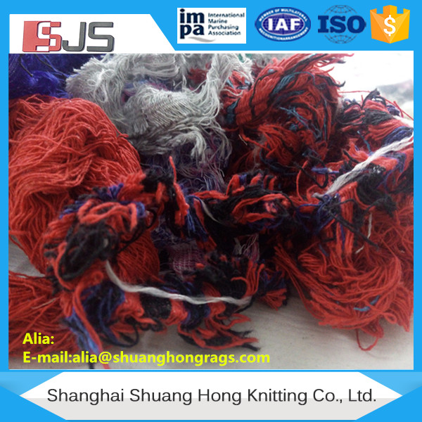 Hosiery cutting cotton waste textile prices