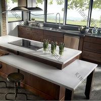 china manufacture 100% pure white quartz kitchen counter tops