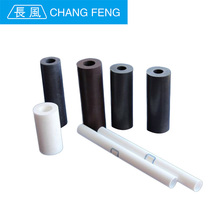 extruded black PTFE rod