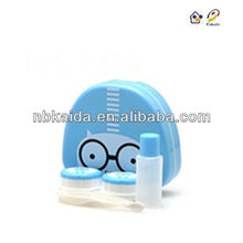 kaida A-8026 Cartoon Contact Lens Case for promotional gifts fashion Contact Lens Box plastic Contact Lens Accessories
