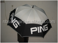 Vented Umbrella double layer golf umbrella winderproof Push self opening