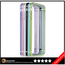 Keno Macarons Color for iPhone 6 Aluminum Metal Bumper Frame Case with Baking Varnish