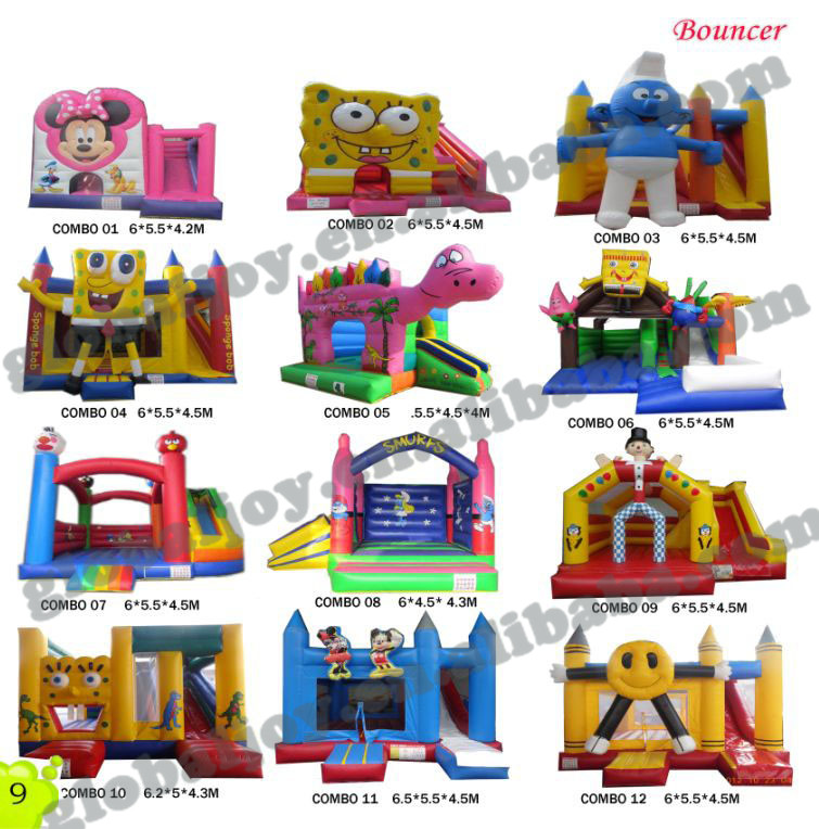 inflatable bouncer/ jumping castle inflatable castle